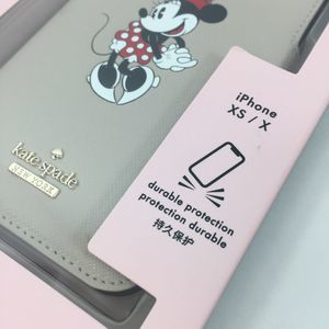 kate spade Accessories - Kate Spade Minnie Mouse Iphone XS/X Folio Case